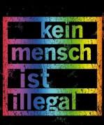 Kein Mensch ist Illegal Regenbogen