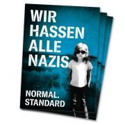 Wir hassen alle Nazis. Normal. Standard  ( 30 Stück )