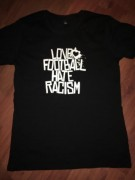 LOVE FOOTBALL HATE RACISM ( FAIRTRADE ) -NEU