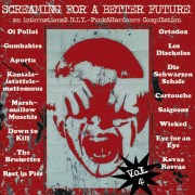 v/a SCREAMING FOR A BETTER FUTURE Volume 4 LP