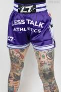 Less Talk Athletics Shorts Muay Thai lila