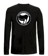Antifaschistische Aktion - schwarz/schwarz
