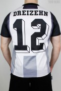 True Rebel Football Jersey Black White