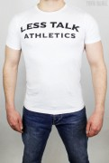 Less Talk T-Shirt Athletics White