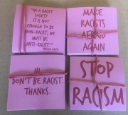 Stop Racism Set (4x30 Sticker)