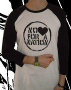 NO LOVE FOR A NATION ( Fairtrade ) -3/4 Sleeve