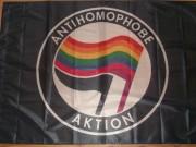 Antihomophobe Aktion -schwarz-