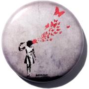 Banksy - Butterfly girl