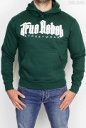 True Rebel Hoodie Vatos Locos Bottle Green