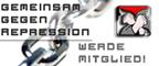 Rote Hilfe - Gemeinsam gegen Repression - Werde Mitglied!